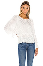 BB Dakota Dot A Dream Blouse in Ivory