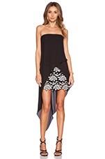 Krystin Dress in Black Combo