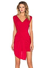 ROBE COURTE DRAPED MINI