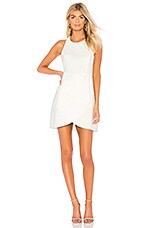 BCBGMAXAZRIA Ely Halter Dress in Off White