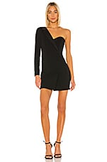 BCBGMAXAZRIA Blazer Mini Dress in Black