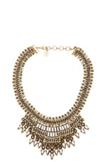 Baguette Stone Statement Necklace in Glacier Combo