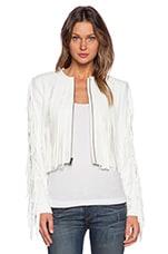 BCBGMAXAZRIA Farrell Jacket in Off White