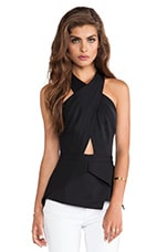 Remmie Top in Black