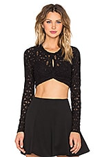 Taelor Top en Noir