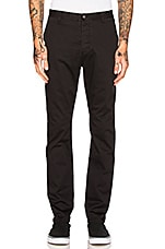 B. Line Chinos in Washed Black