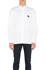 B Schooled Oxford Shirt in White