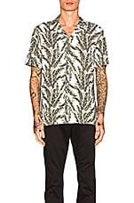 Barney Cools Camp Collar Shirt in Fern