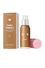 Benefit Cosmetics Hello Happy Flawless Brightening Liquid Foundation in 07 Medium Tan Neutral
