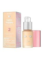 Benefit Cosmetics Mini Hello Happy Flawless Brightening Liquid Foundation in 02 Light Warm
