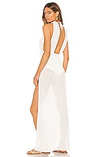 Beach Bunny Annika Maxi Dress in Ivory