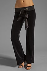 Lounge Winter Romance Pant in Black