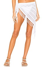 Beach Bunny Indian Summer Wrap Skirt in White