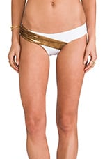 Royal Ascot Bottom in Bronze & White