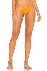 Beach Bunny Classic Triple Strap Bikini Bottom in Soleil