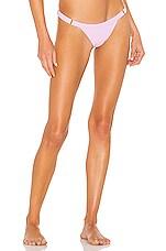 Beach Bunny Reese Bikini Bottom in Lavender