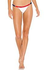 Beach Bunny Endless Summer Skimpy Bikini Bottom in Red, White & Blue