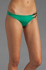 Miss Know It All Skimpy Bottom in Green