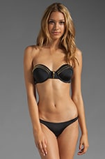 Thief of Heart Bikini Top in Black