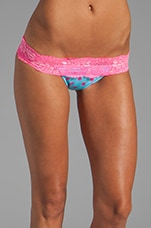 Lady Lace Bottom in Aqua Pink
