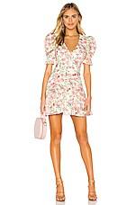 BEC&BRIDGE Le Follies Mini Dress in Camellia Print