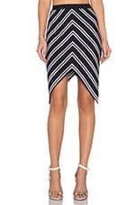 Ahoy Skirt in Ink Stripe