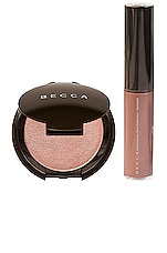BECCA Glow on the Go Kit in Rose Gold