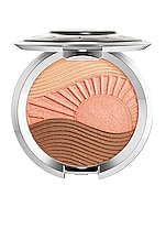 BECCA x Chrissy Teigen Endless Bronze & Glow Compact in Moonstone, Beach Nectar & Aloha Bronze