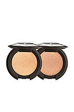BECCA Pop On the Glow Shimmering Skin Perfector Pressed Kit in Champagne Pop & Rose Gold