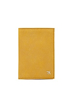 BEIS The Passport Cover in Yellow