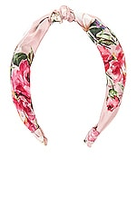 HEMANT AND NANDITA Blush Headband in Pink