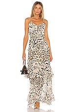 HEMANT AND NANDITA x REVOLVE Rika Maxi Dress in Brown