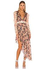 HEMANT AND NANDITA x REVOLVE Bani Asymmetrical Dress in Multicolor