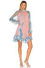 HEMANT AND NANDITA Millim Mini Dress in Pink