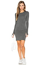 Remington Dress in Charcoal