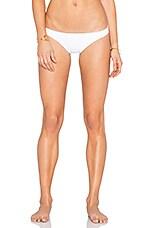 Barely Bikini Bottom in White