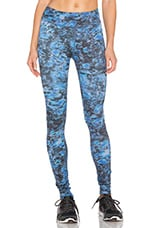 Lux Essential Long Legging in Night Lily