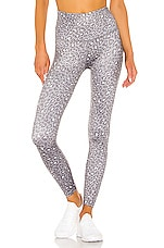 Beyond Yoga Lux Leopard High Waisted Midi Legging in Leopard