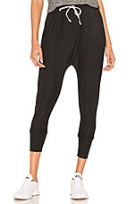 Beyond Yoga Berkley Harem Pants in Darkest Night