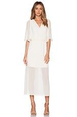 Boho Dress in Whisper White