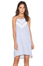 BCBGeneration Trim Bodice Dress in Pale Blue