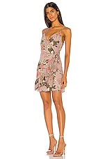 BCBGeneration Ruffle Surplice Dress in Multi