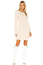 BCBGeneration Day Sweater Dress in Cream