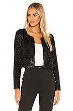 BCBGeneration Knit Short Jacket in Black