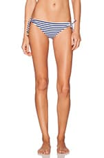 BCBGeneration Feeling Fine Bikini Bottom in Navy Combo