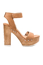 Kyra Heel in Ginger