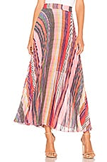 Birgitte Herskind Nessa Skirt in Multi Stripe