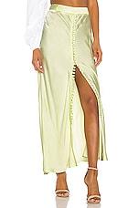 Birgitte Herskind Supreme Skirt in Pastel Lime