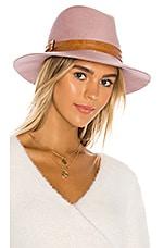 Bijou Van Ness The Melrose Hat in Blush & Tan