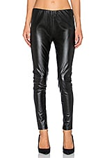 Vegan Leather Legging en Noir